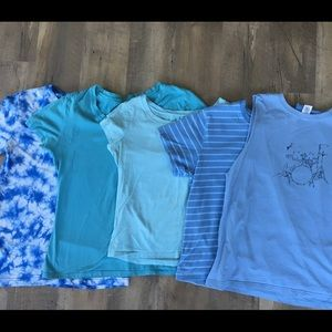 Tops - Blue shirt bundle!